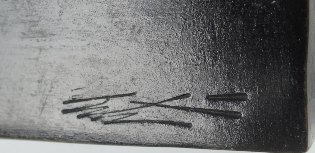 "Signed Erte Bronze ""Beauty & the Beast"" - 5"