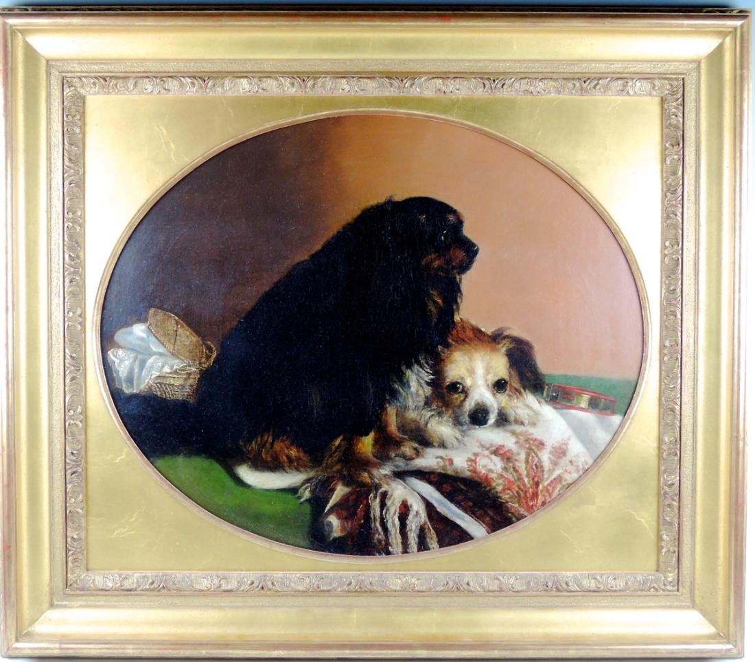 Best Friends O/C Dog Painting
