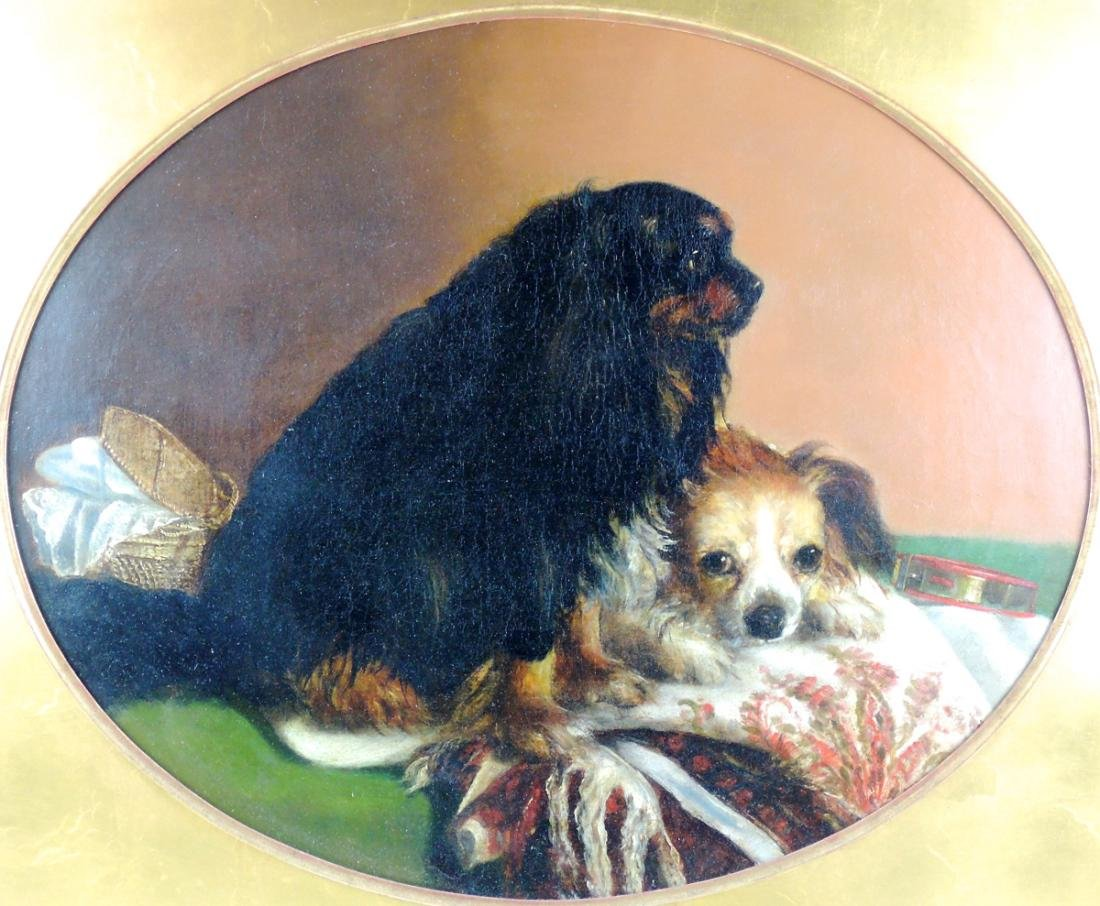 Best Friends O/C Dog Painting - 2
