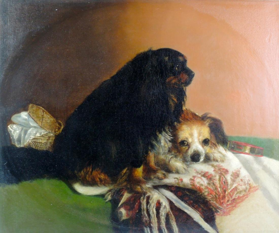 Best Friends O/C Dog Painting - 3