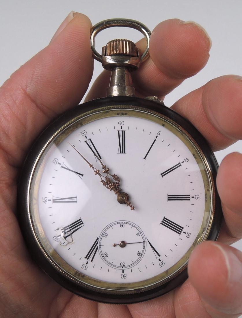 Antique Erotic Pocket Watch w Nude - 5