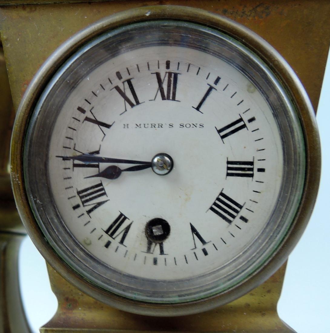 Rare Bronze Winged Dragon Clock - 5