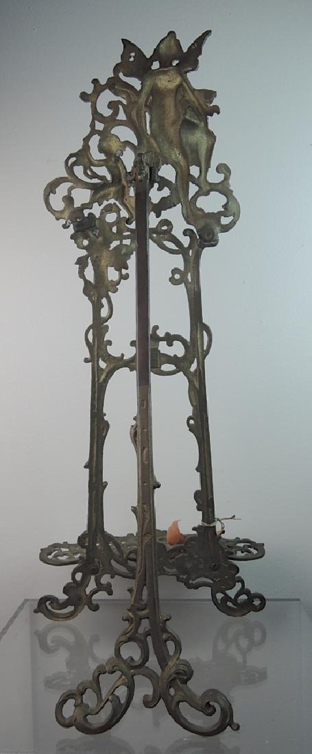 Rare Bronze Art Nouveau Easel - 2