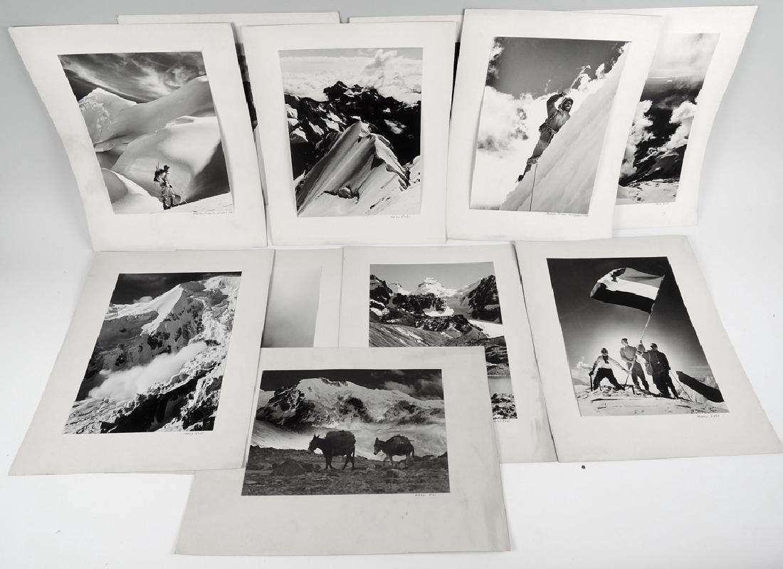 Set of 11 Hans Ertl Andes Mountain Photographs
