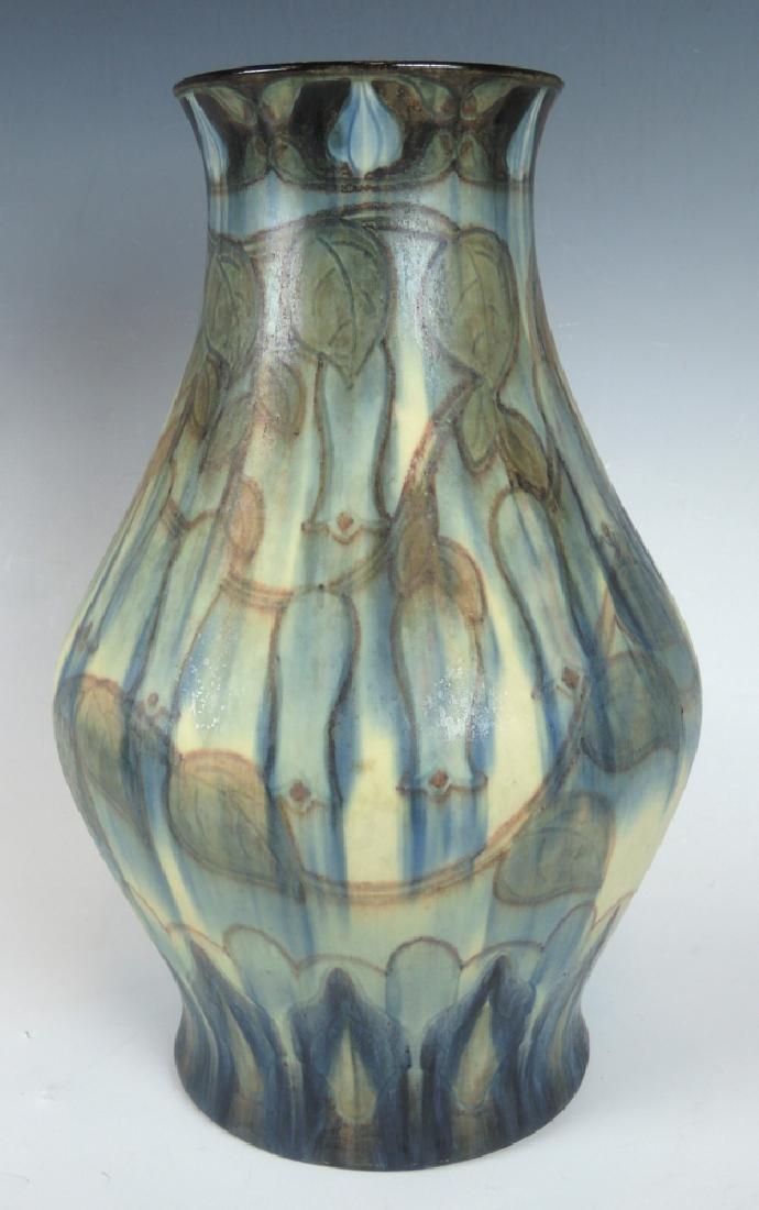 Rookwood Earthenware Vase Bellflower Vine