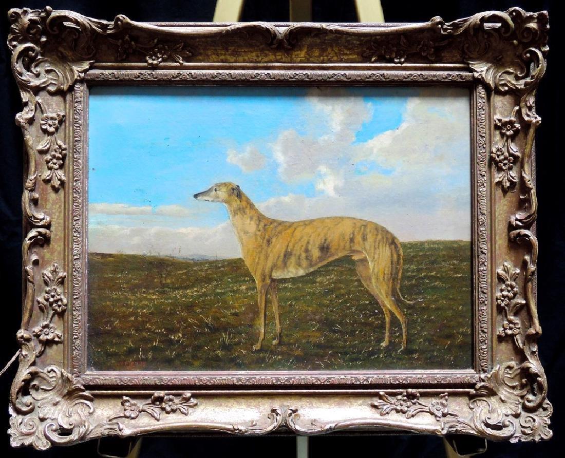 Henry Birtles Greyhound Painting