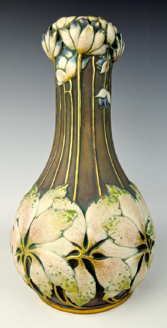 Paul Dachsel Art Nouveau Amphora Vase
