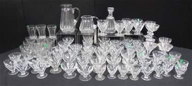 80 Pc Set Baccarat Crystal Stemware