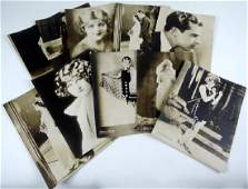 Mennen Silent Screen Publicity Photographs
