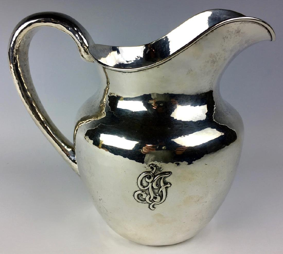 Important Clemens Friedell Sterling Pitcher