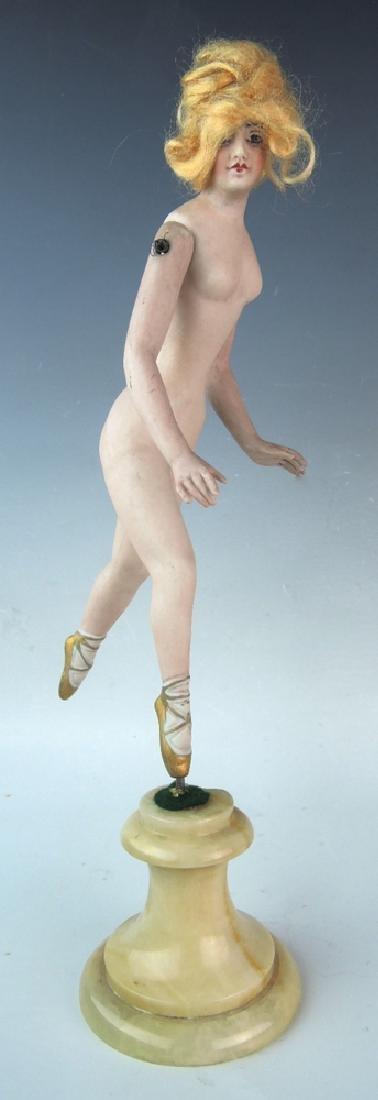 Bisque Bathing Beauty Dancer