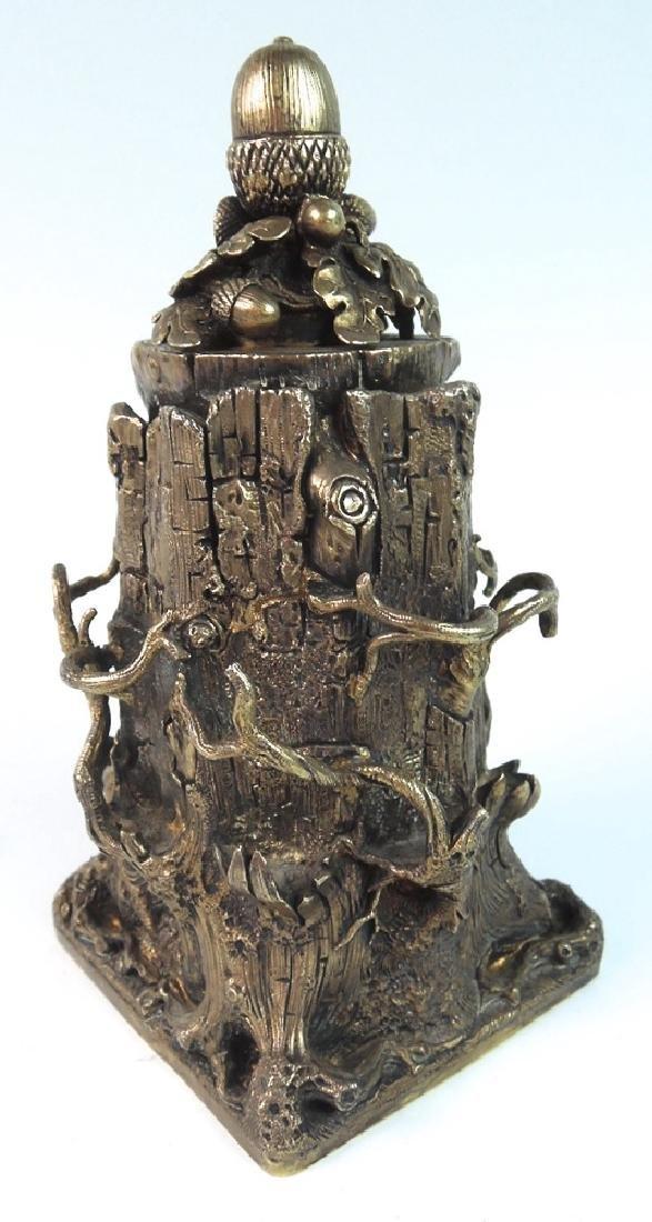 Unusual Tree Trunk Cigar Lighter