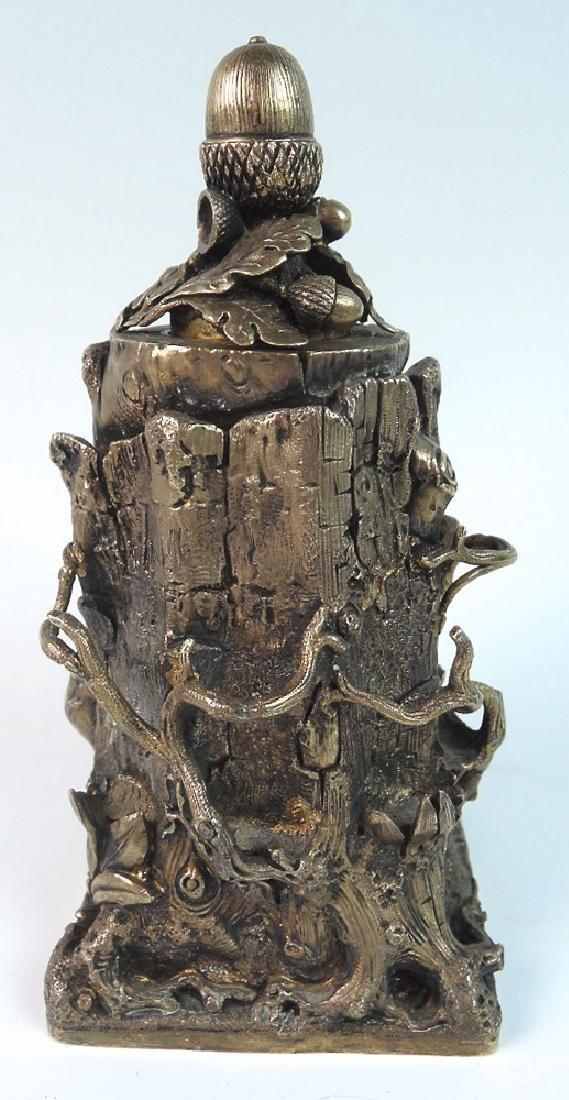 Unusual Tree Trunk Cigar Lighter - 2