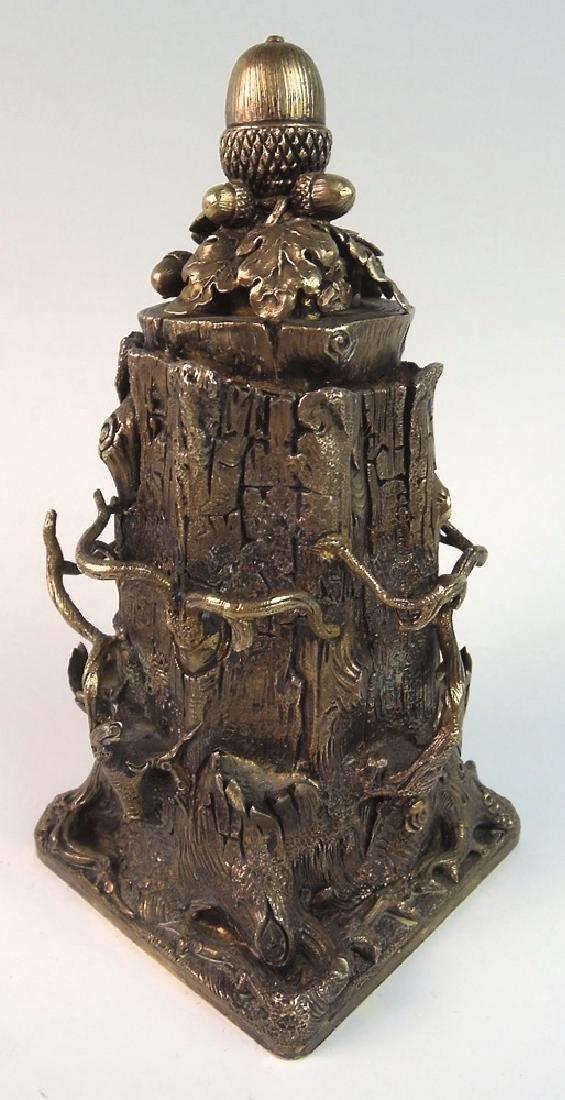 Unusual Tree Trunk Cigar Lighter - 3