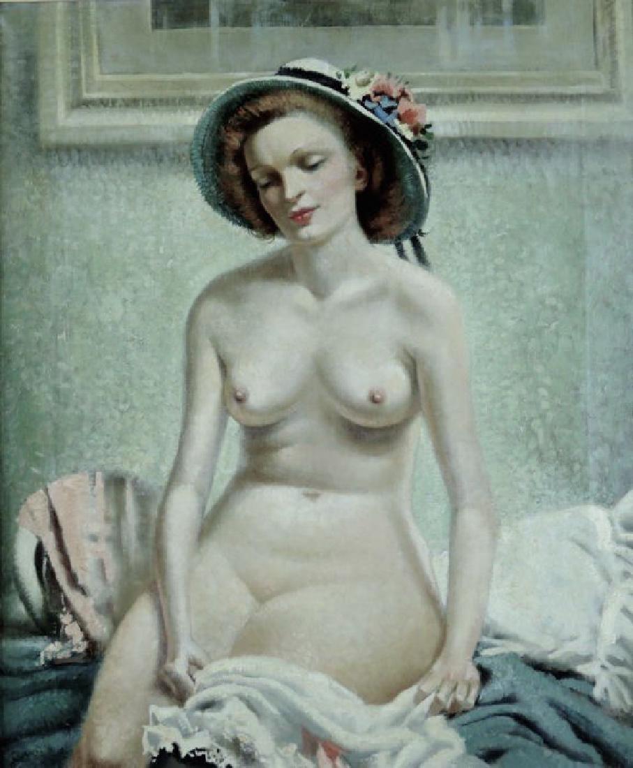 Arthur Royce Bradbury Portrait Painting