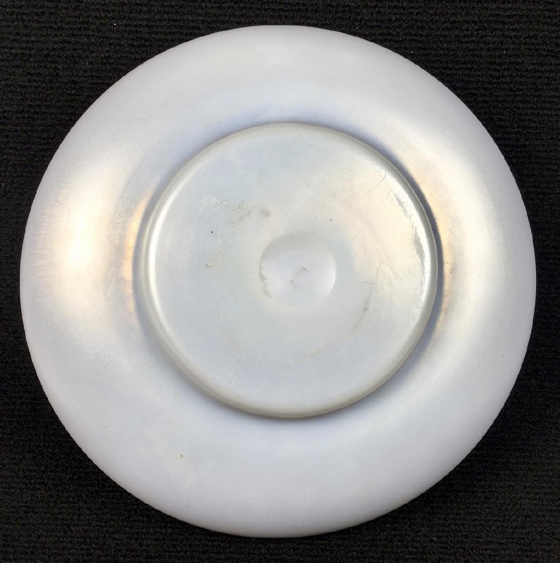 Steuben Art Glass Aurene & Calcite Bowl - 4