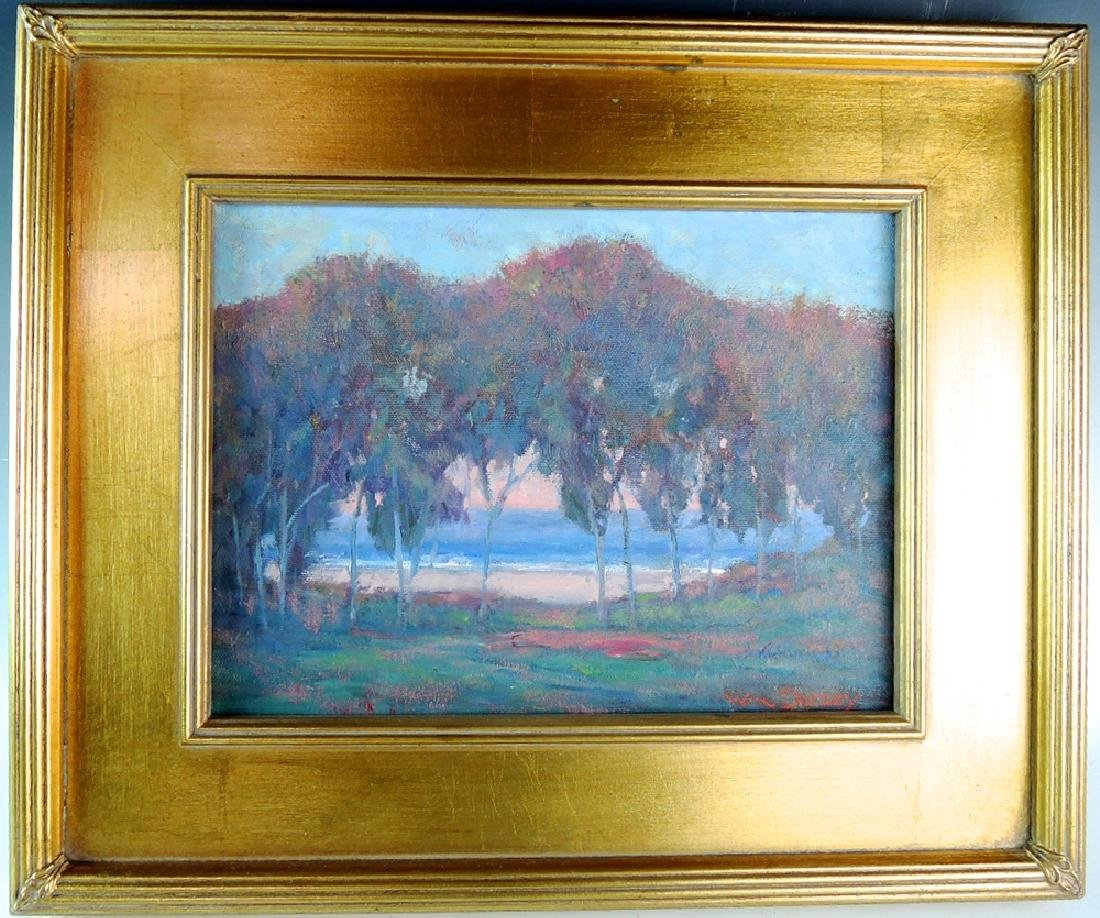 """William Dorsey """"California Landscape"""" Painting"""