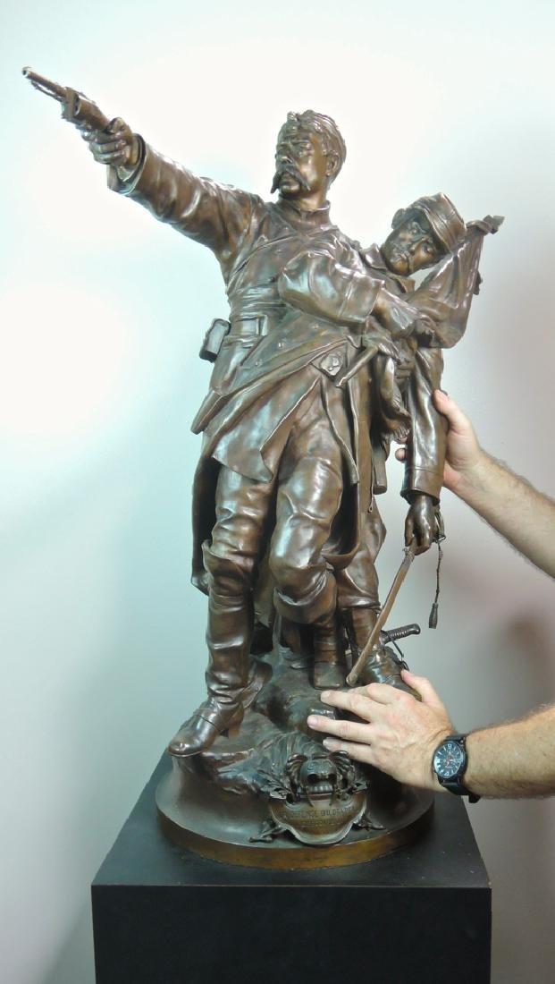 Jean-Louis Gregoire Monumental Bronze - 2