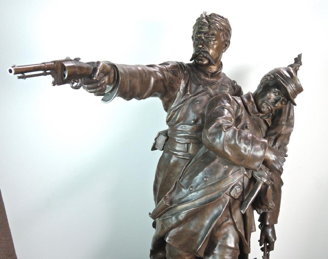 Jean-Louis Gregoire Monumental Bronze - 3