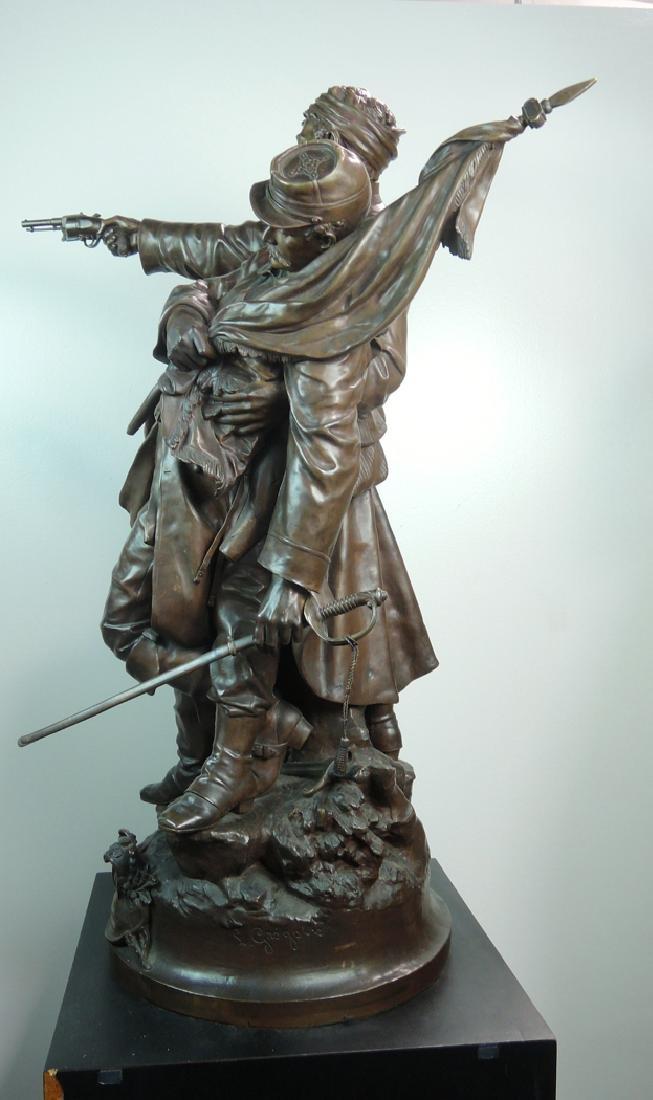 Jean-Louis Gregoire Monumental Bronze - 7