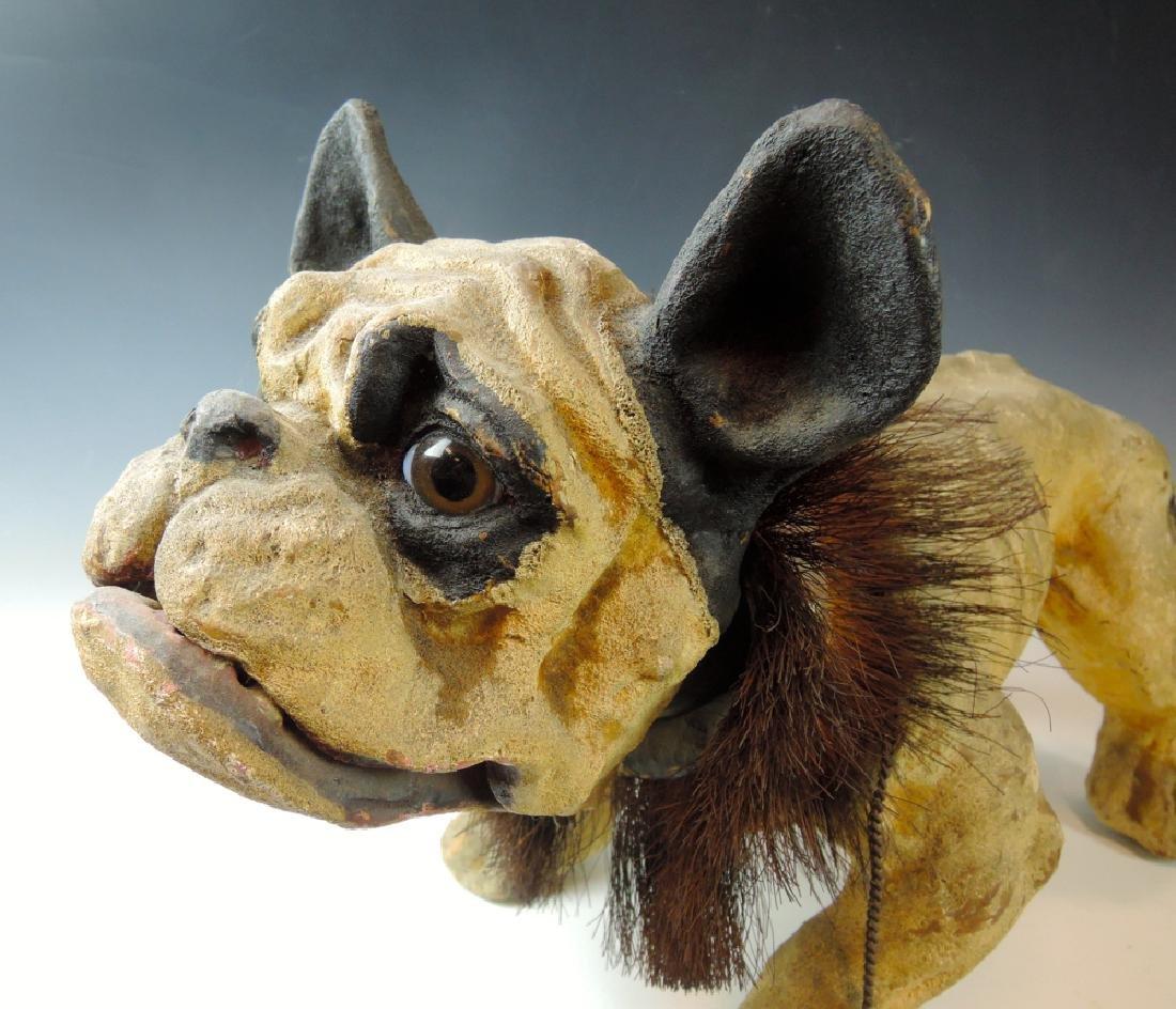 19th Century French Bulldog Growler Toy - 2