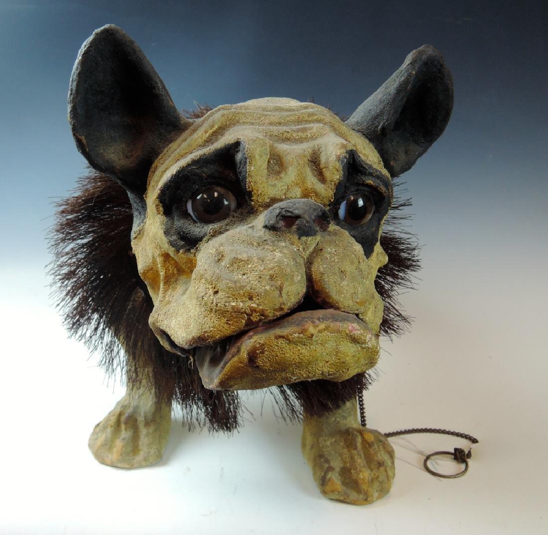 19th Century French Bulldog Growler Toy - 3