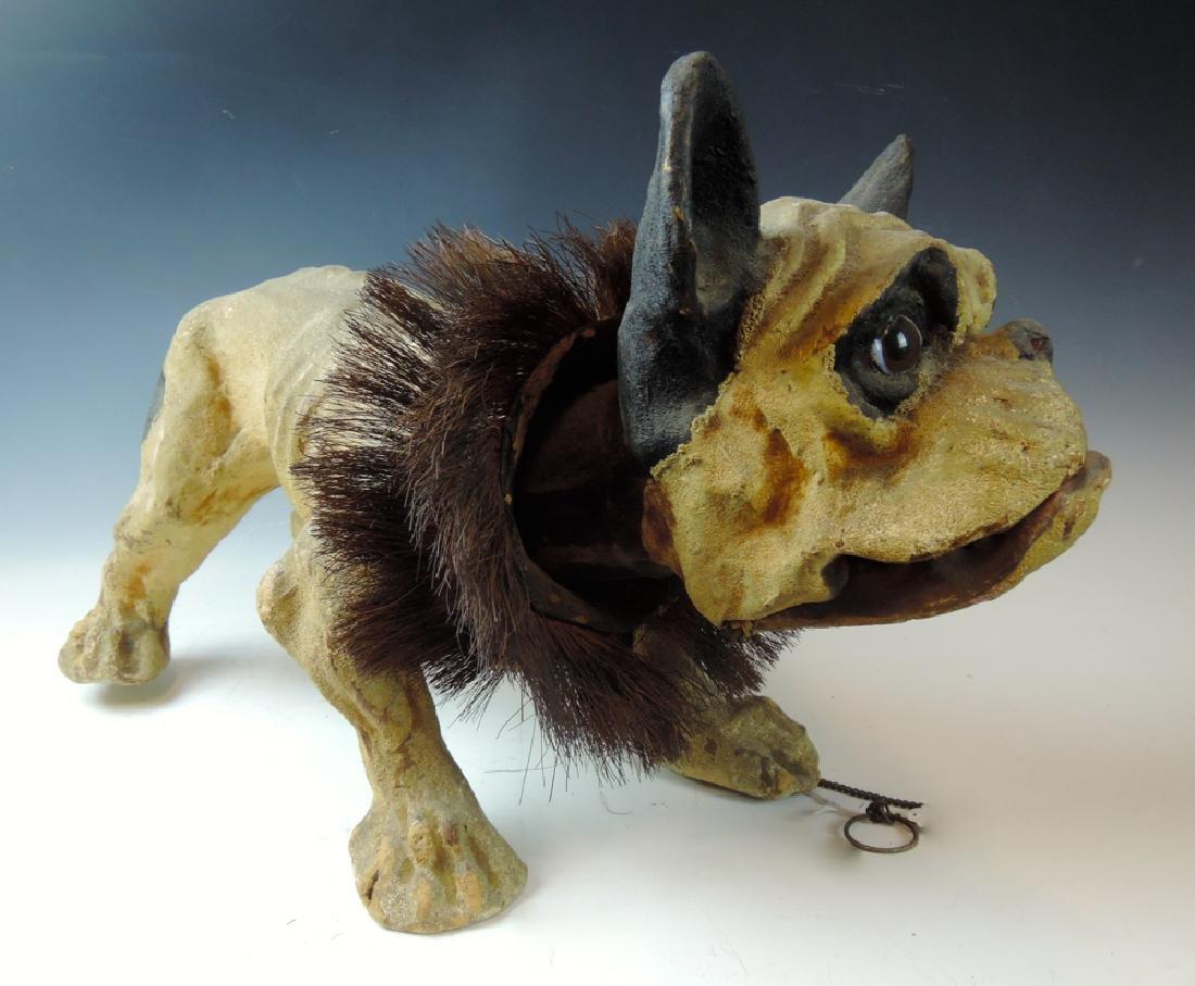 19th Century French Bulldog Growler Toy - 4