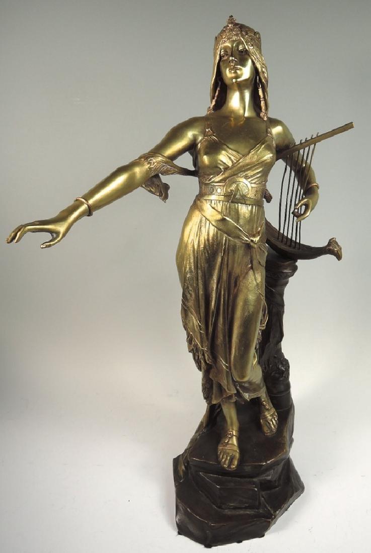 Edouard Drouot Bronze Sculpture Salome