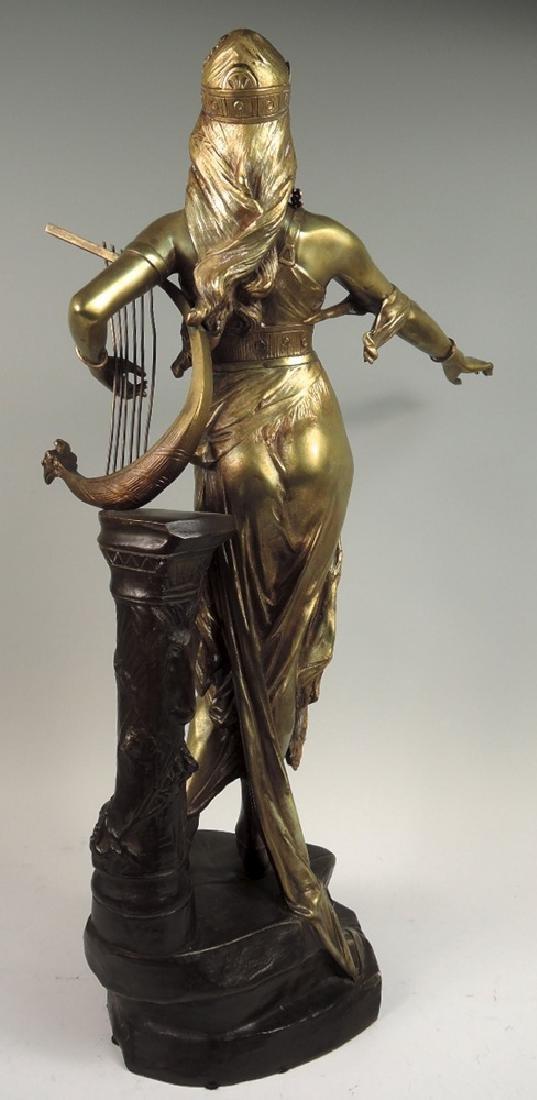 Edouard Drouot Bronze Sculpture Salome - 2