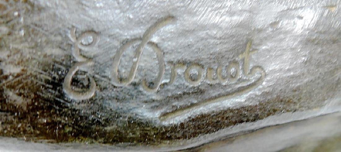 Edouard Drouot Bronze Sculpture Salome - 3