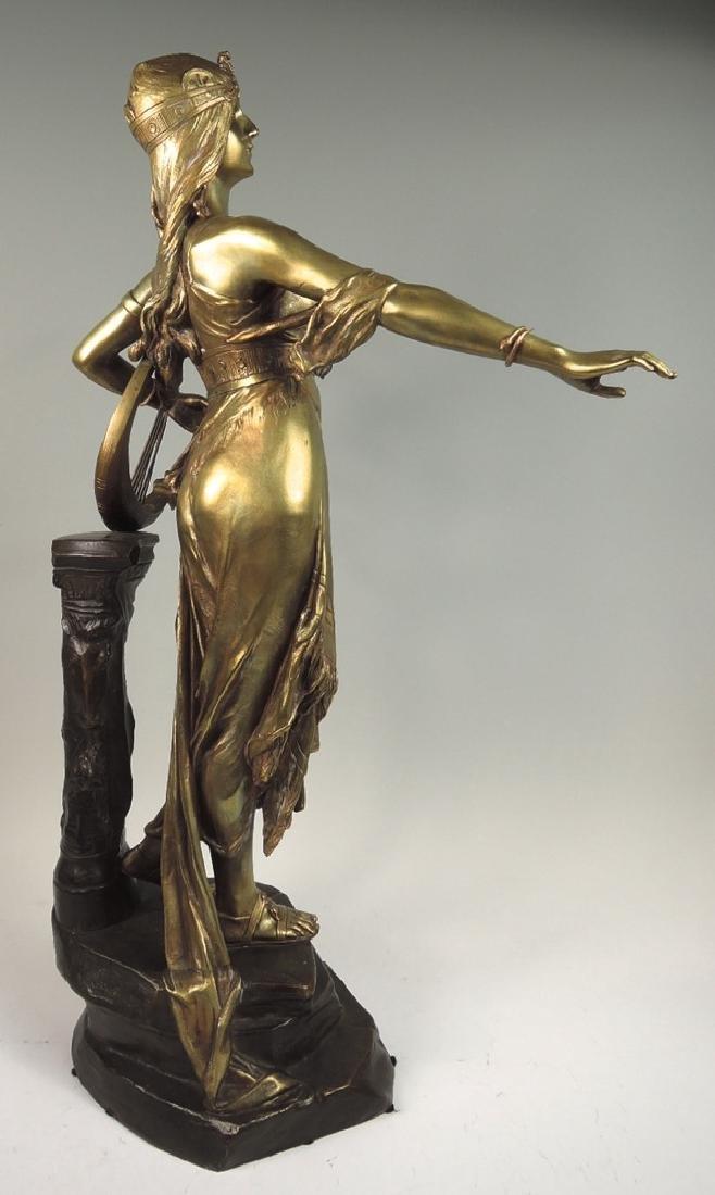 Edouard Drouot Bronze Sculpture Salome - 4