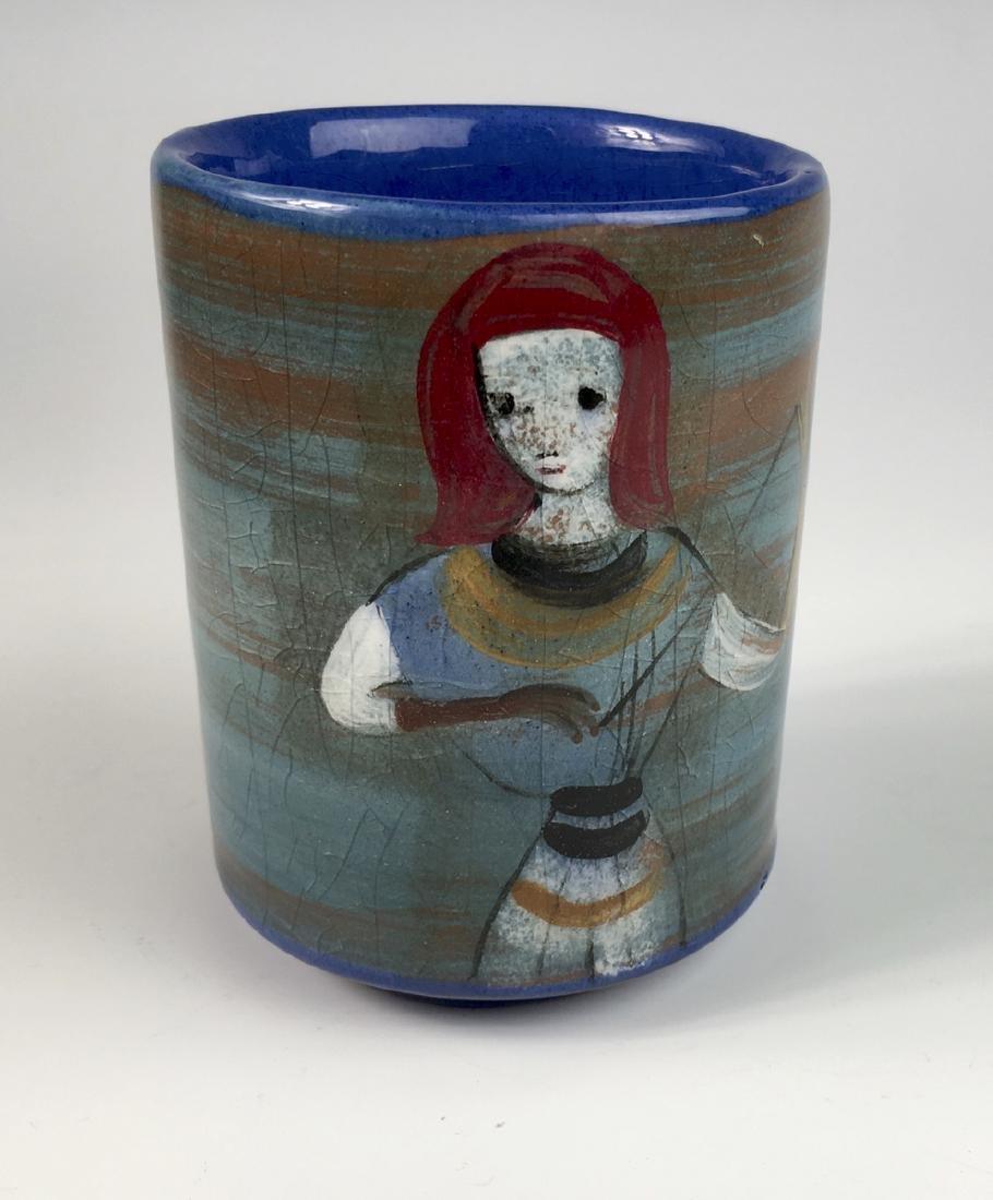 Pillin Pottery Vase (LA 1909-1992)