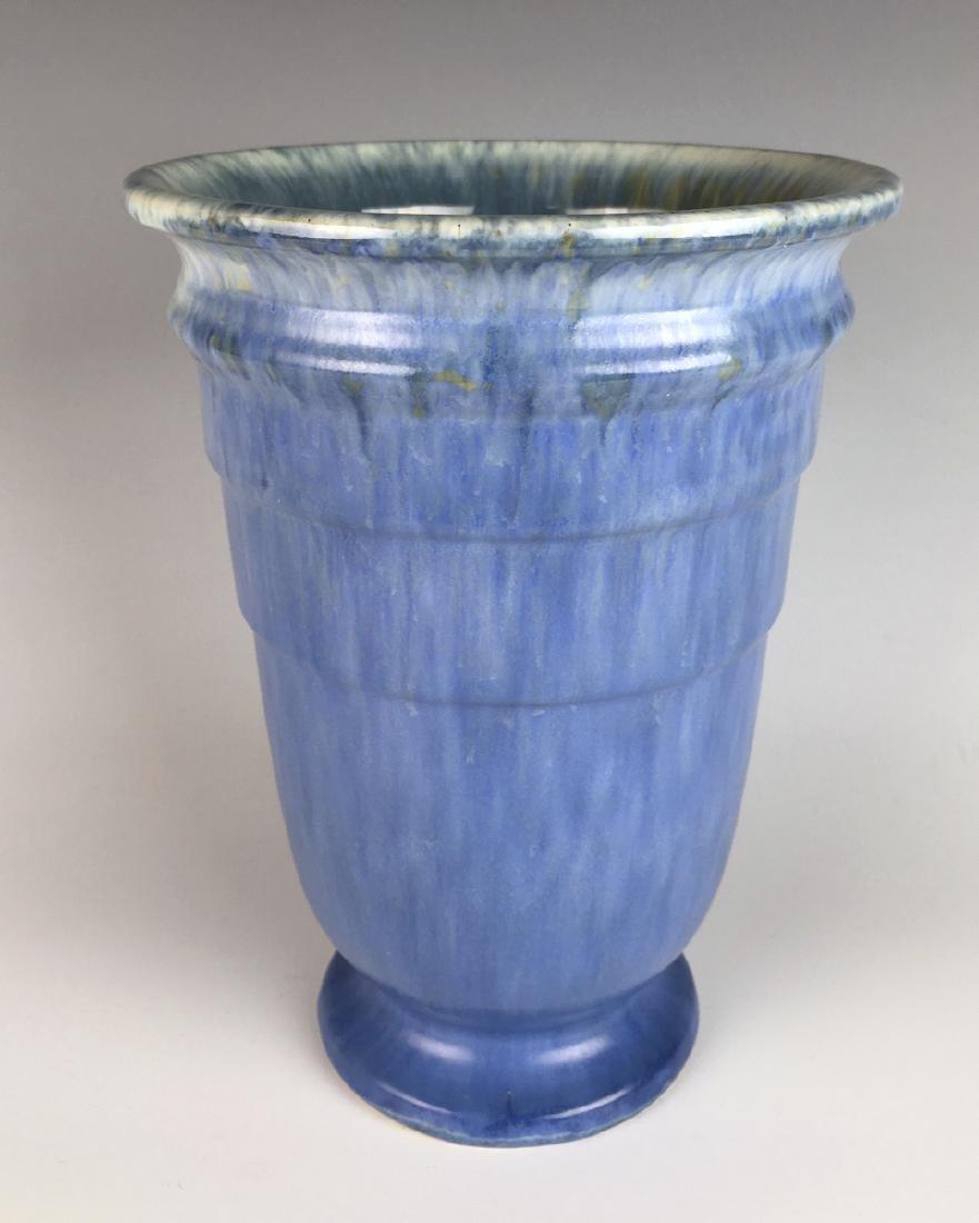 Roseville Blue Tourmaline Vase C. 1933