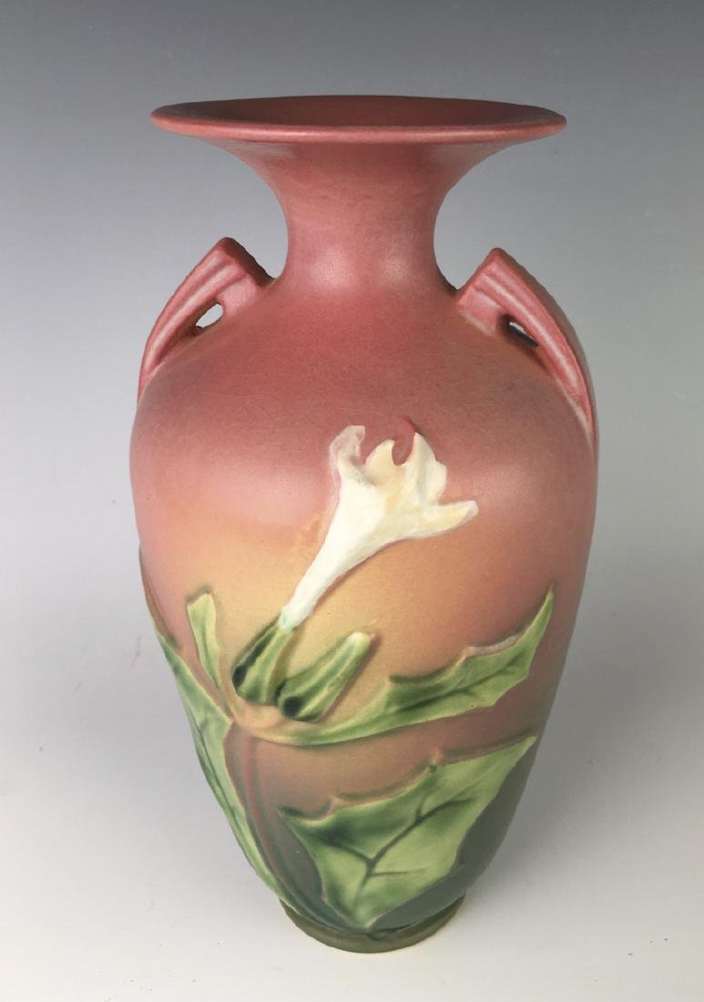 Roseville Thornapple Vase C. 1930