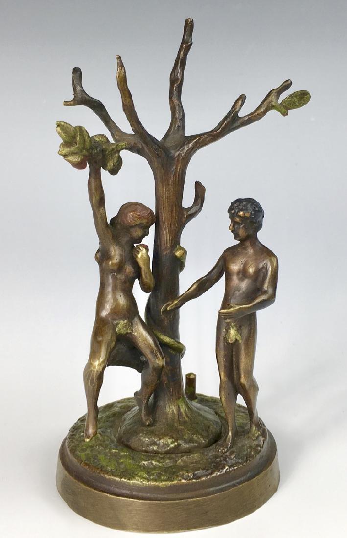 Franz Bergman Mechanical Erotic Bronze