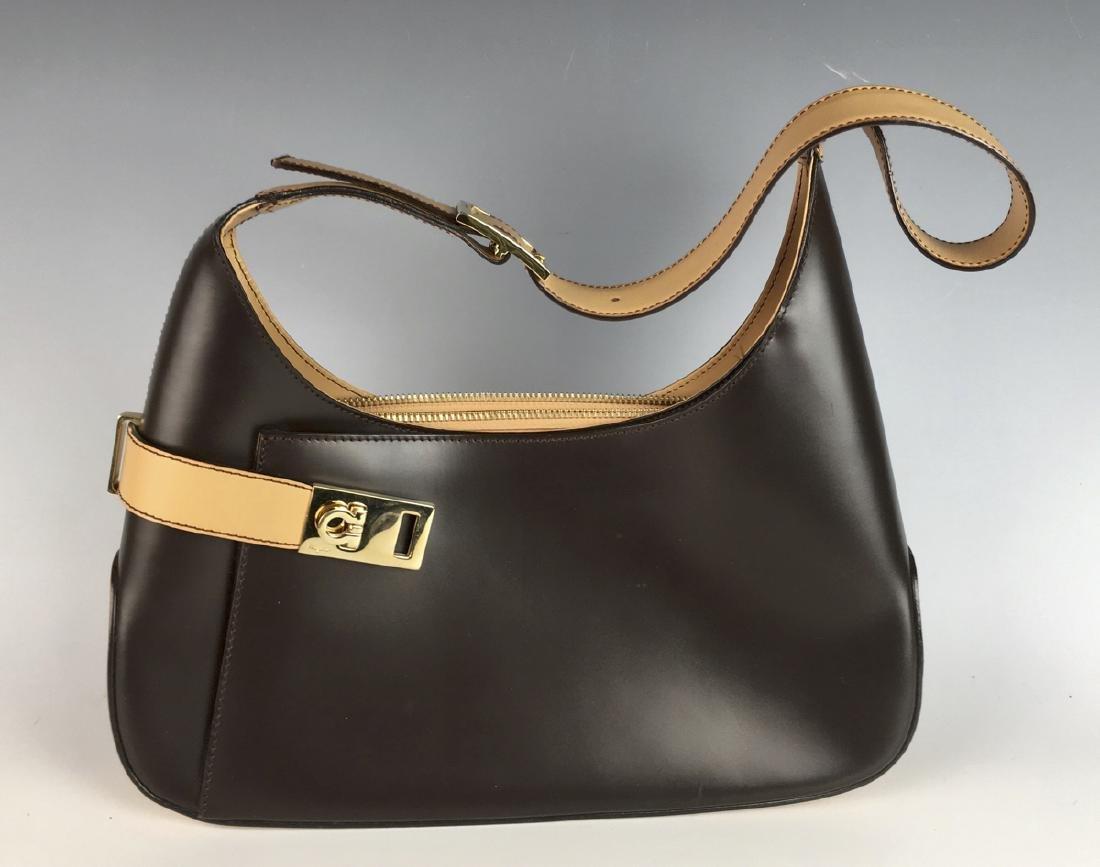 Ferragamo Two Tone Handbag