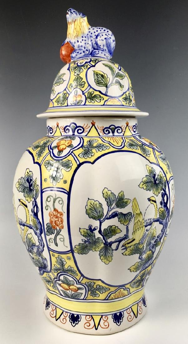 Tiffany & Co. Porcelain Covered Urn