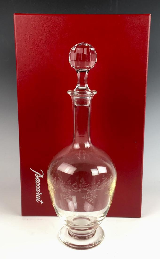 "Baccarat Crystal ""Sevigne"" Decanter with Box"