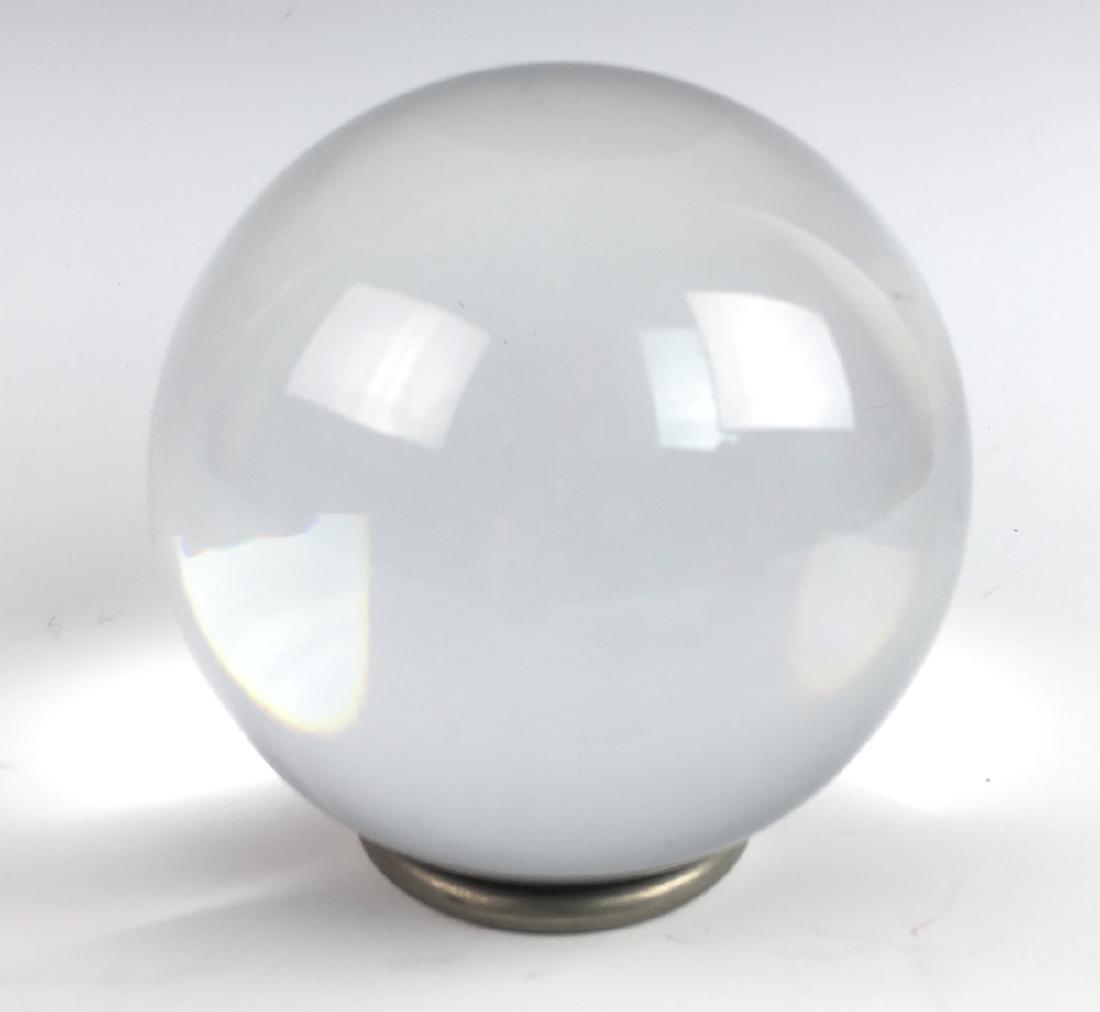 "Baccarat Crystal ""Sirius Ball"""