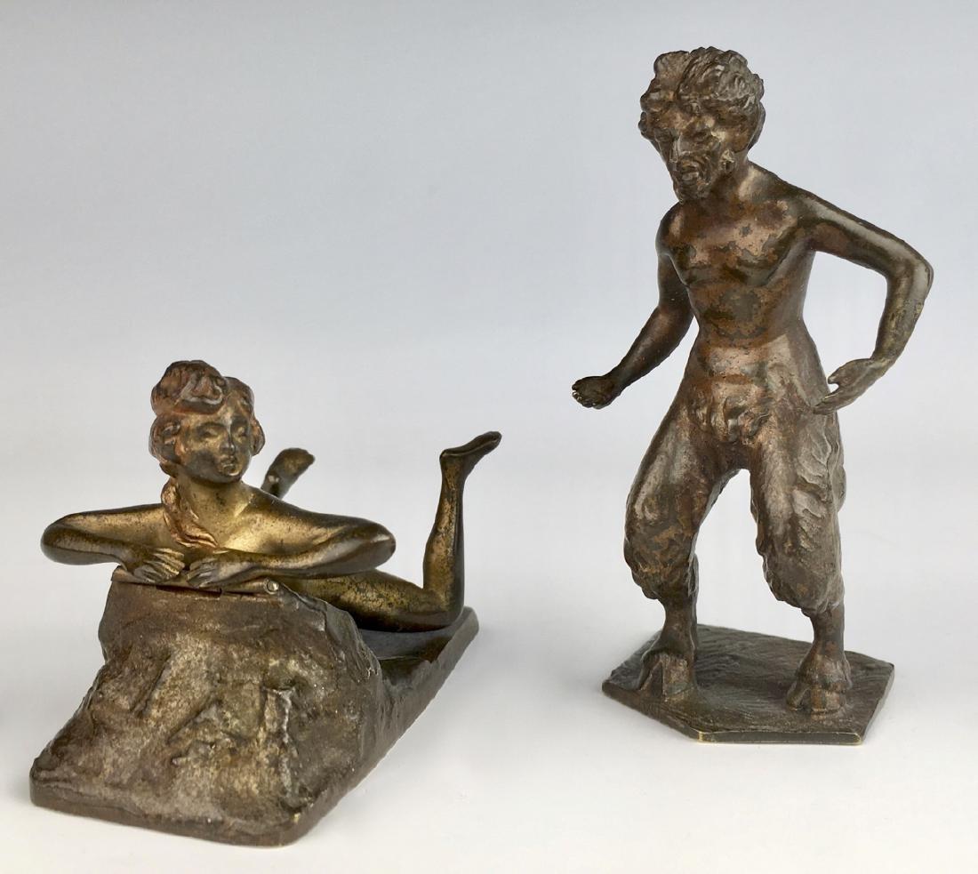 Rare Bergman Vienna Bronze 2 Part Naughty