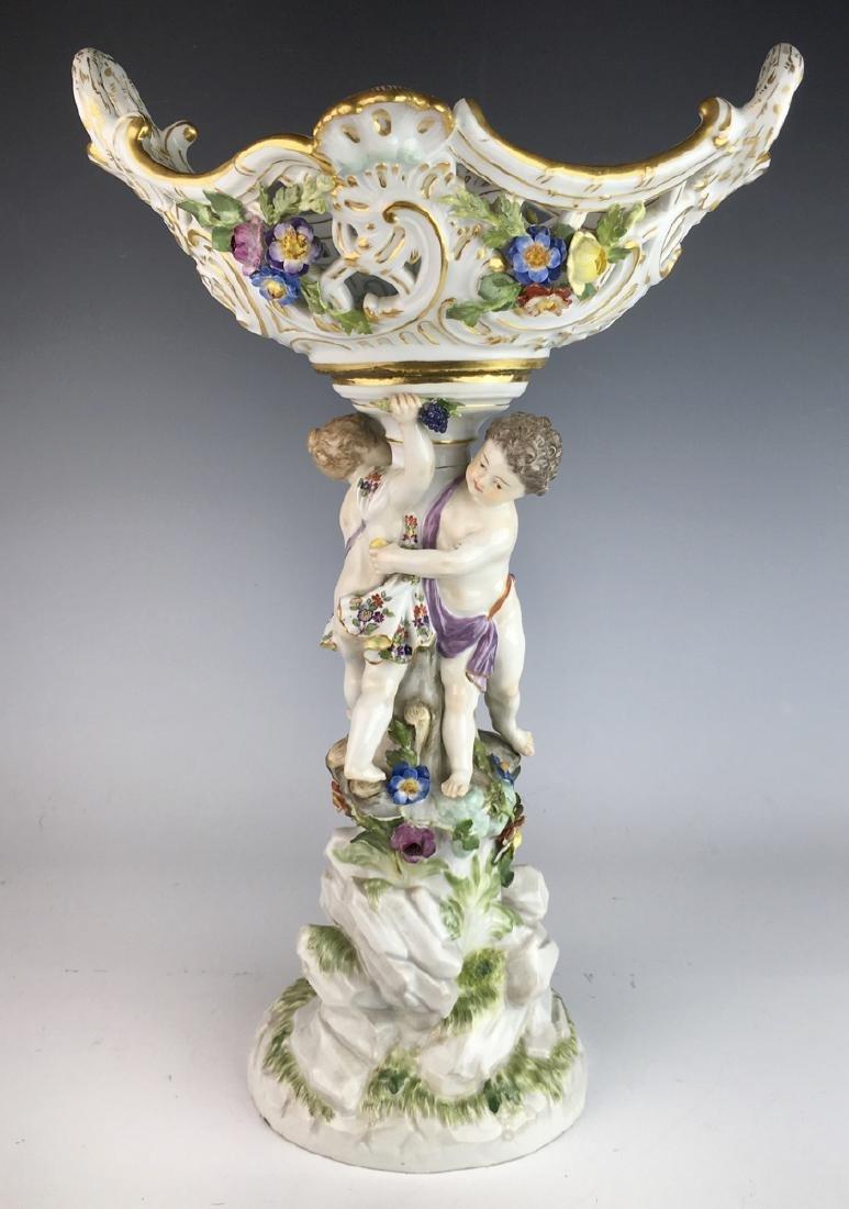 Meissen Figural Centerpiece Circa 1900