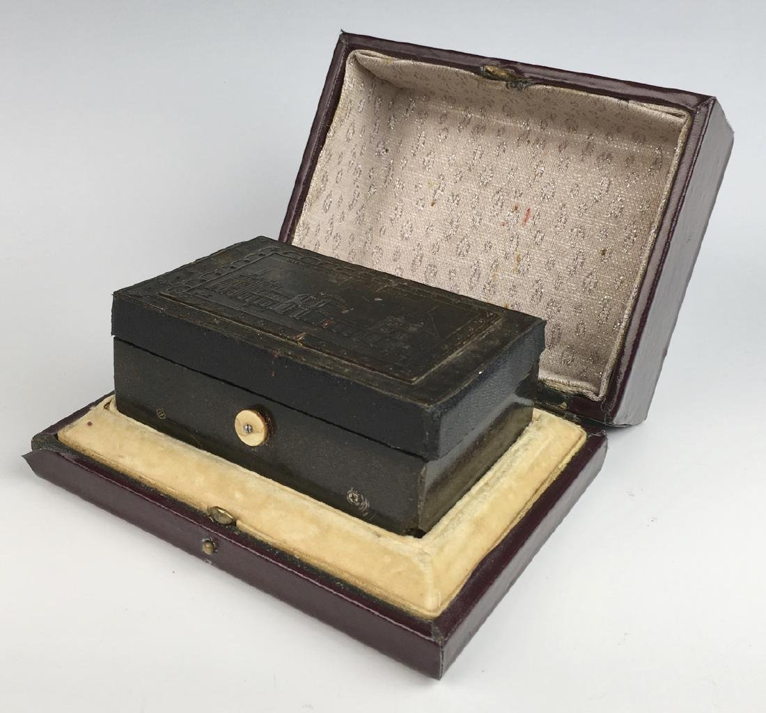 Rare Erotic Automaton Music Box w/ Original Case