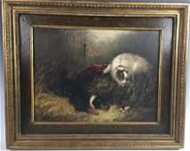 "George Armfield ""Dogs Ratting"" Circa 1870"