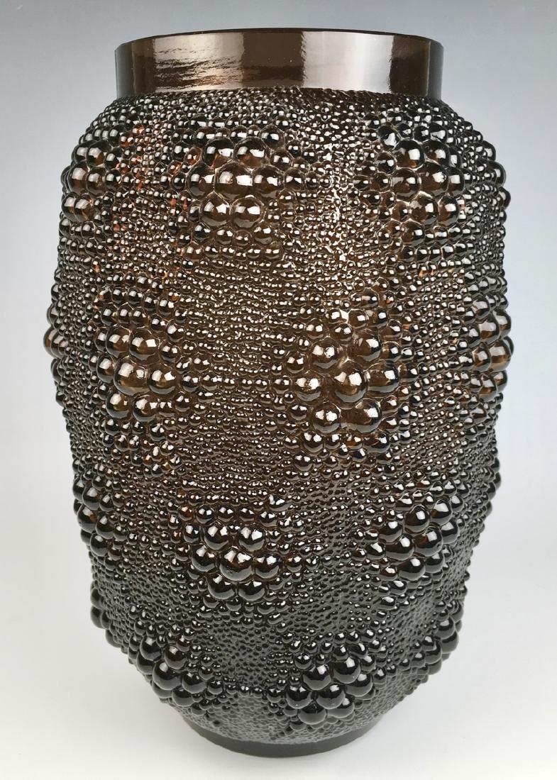 """R. Lalique """"Davos"""" Vase"""