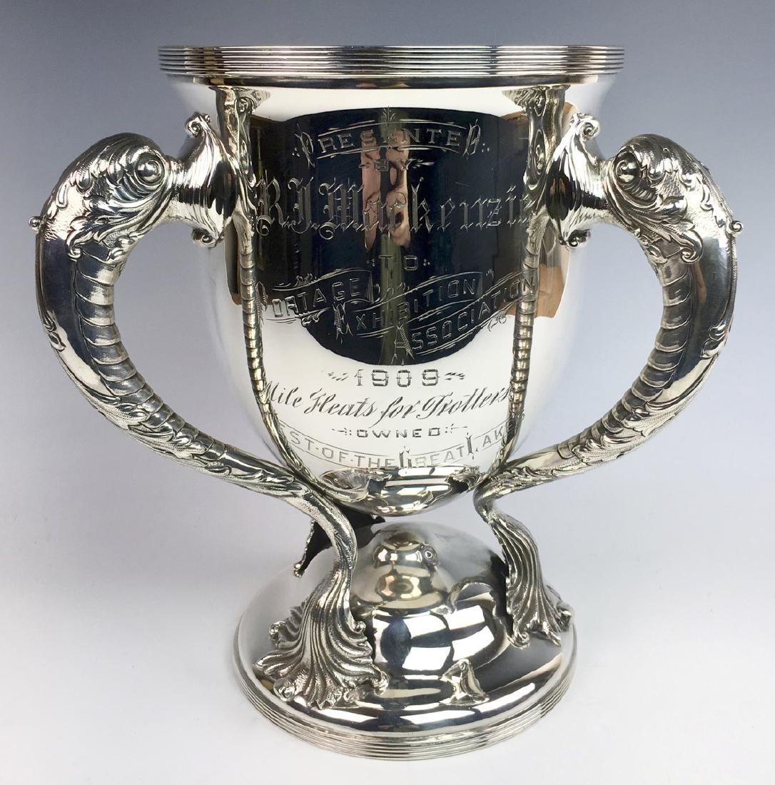 WMB Kerr Sterling Trophy Circa 1892