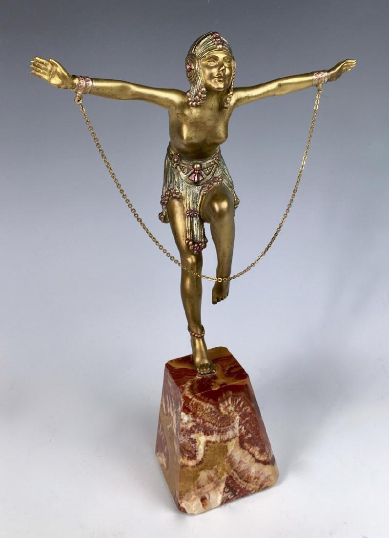 Demetre Chiparus Chain Dancer Art Deco Bronze