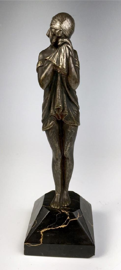 """D.H. Chiparus Bronze """"The Sad One"""" C. 1920"""