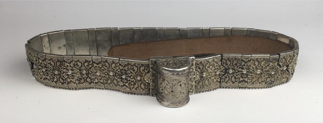 Imperial Russian Silver Belt Signed Khlebnikov