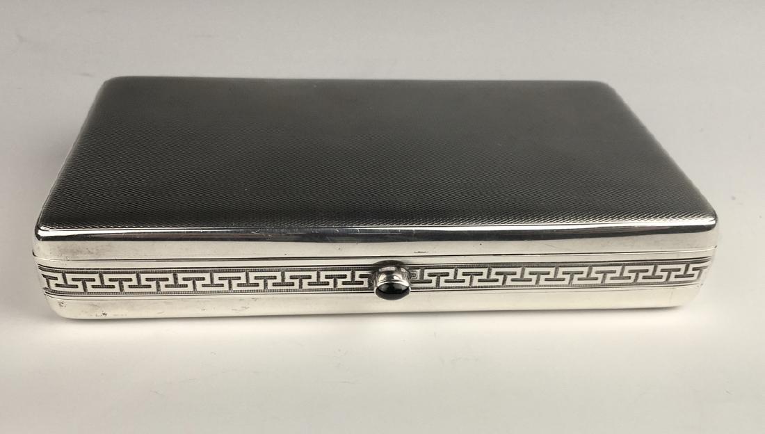 Louis Kuppenheim 3 Compartment Cigarette Case