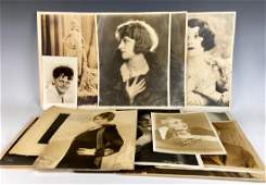 Group 17 Autographed Photos Silent Screen Actors